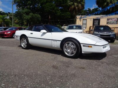 1990 Chevrolet Corvette Base (White)