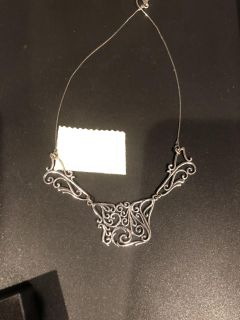 New 18 in Sterling Silver Neclace