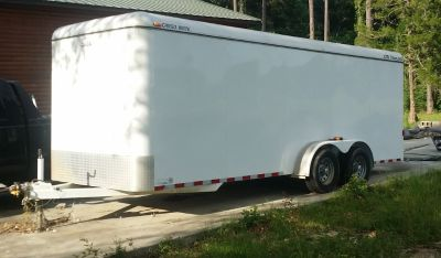 20ft Enclosed Trailer for rent
