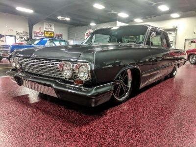 1963 Chevrolet Bel Air/150/210 Coupe (Gray)