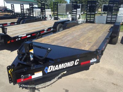 2018 Diamond C 19LPX Equipment Trailer Trailers Elkhorn, WI