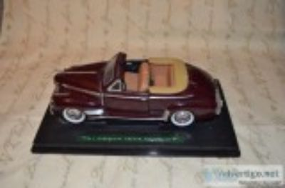 Chevrolet Deluxe Convertible Scale Diecast