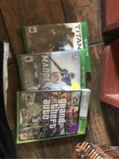 XBox Games-New