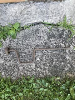 Antique lug wrench