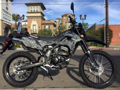 2018 Kawasaki KLX 250 Camo Dual Purpose Motorcycles Marina Del Rey, CA