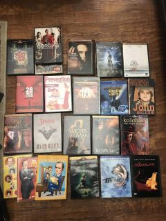 Any 4 of any of my dvds $1