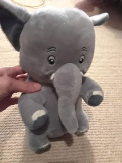 Scuffy the Tug Boat and Shaggy Baggy Elephant Plush toys