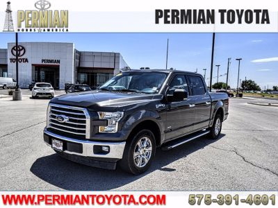 2017 Ford F-150 CREW CAB (gray)