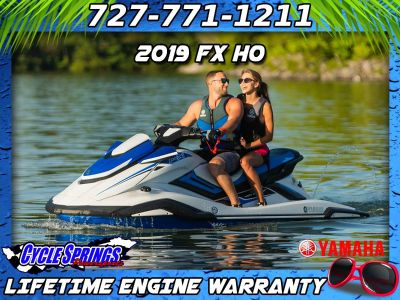 2019 Yamaha FX HO 3 Person Watercraft Clearwater, FL