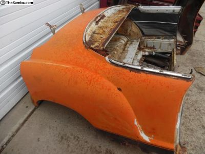 Karmann Ghia body sectionals You pick the cuts