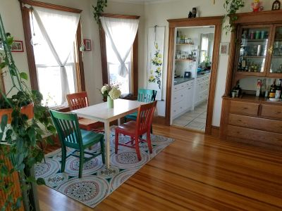 One bedroom available in sunny, spacious 2 bedroom home in Belmont