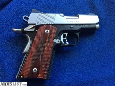 For Sale/Trade: Kimber ultra CDPII