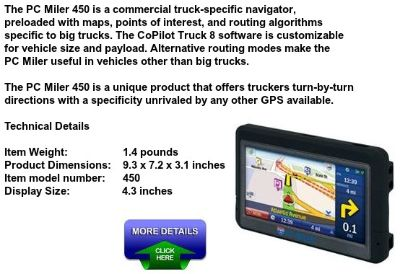 $89.99, Truck Driver GPS