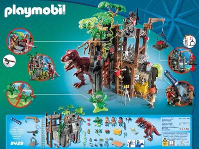 Playmobil Hidden Temple w/T Rex (Just Purchased)