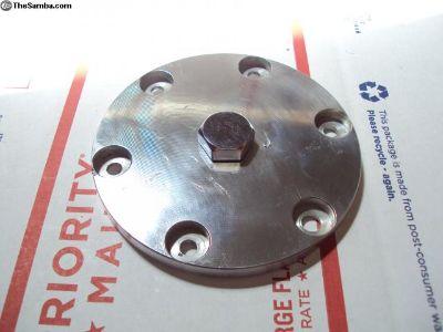 FS: Alumin um billet oil drain plate.