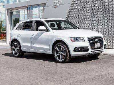 2016 Audi Q5 TDI 3.0T Premium Plus (Glacier White Metallic)