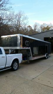 Enclosed Car Hauler Living Quarters Aluminum