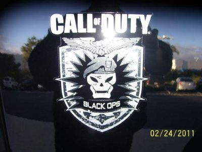 Purchase Call of Duty BLACK OPS edition JEEP Wrangler decal kit motorcycle in Temecula, California, US, for US $72.81