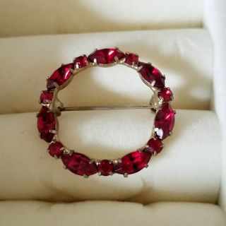 *Red sapphire* pin