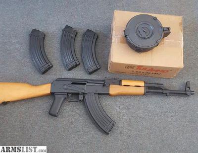 For Sale: 2015 WASR 10 AK47 7.62x39