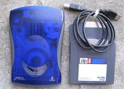 * ~~  External Iomega Zip Drive 250mb USB w/2 100mb disks ~ ZipDrive 250 ~~ *