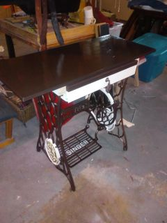 Sewing machine base desk/table