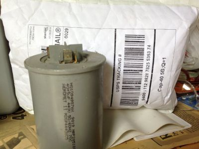 HVAC A/C Dual Run 40/5 MFD Capacitor (New) Lowered