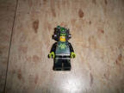 LEGO Minifigure Agents villain Terabyte w helmet Bad 2 the