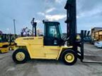 2003 Diesel Hyster H330HD Pneumatic Tire 4 Wheel Sit Down