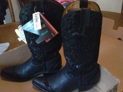 Cowgirl Boots dress black