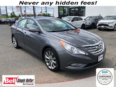 2012 Hyundai Sonata Limited (Harbor Gray Metallic)