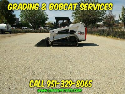 Bobcat Grading and Land Clearing Services. Free Estimates