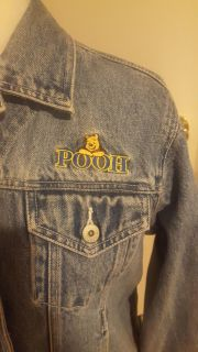, from the Disney Store youth extra large in excellent condition a pooh jean jacket