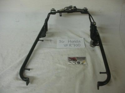 Buy 86-87 Honda VFR-700 Rear seat latch bracket. Good Used OEM motorcycle in Terrell, Texas, US, for US $69.95