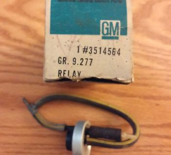 Sell NOS 1967-68 Cadillac Air Conditioning Vacuum Time Delay Relay GM Part # 3514564 motorcycle in Oxford, Pennsylvania, United States, for US $125.00