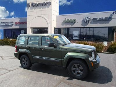 2008 Jeep Liberty Sport (Jeep Green)