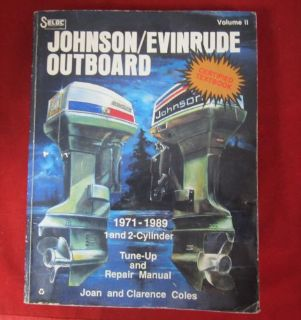 Buy JOHNSON/EVINRUDE OUTBOARD - 1971-1989 - 1 & 2 Cylinder Tune-Up and Repair Manual motorcycle in East Wenatchee, Washington, United States, for US $19.87