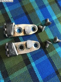 OG VW Bus Front Door Left and Right Catch Latch 75
