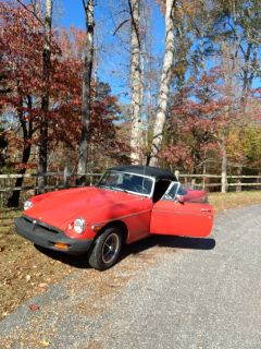 1977 MGB Convertible Roadster