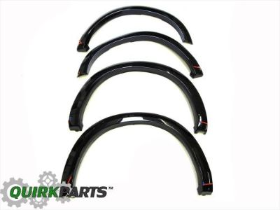 Buy 13-16 DODGE RAM 1500 PX8 GLOSS BLACK WHEEL FENDER FLARES SET OF 4 OEM NEW MOPAR motorcycle in Braintree, Massachusetts, United States, for US $352.35