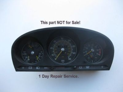 Purchase Mercedes Cluster Odometer Speedometer Repair 1972-1989 SL SLC SEL Class motorcycle in Holbrook, Massachusetts, United States, for US $164.97