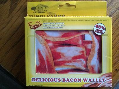 FunQi brand bacon wallet