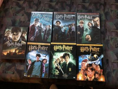 Harry Potter movies. $4 each