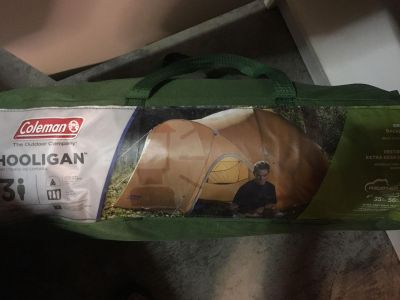 Small Tent (used once)