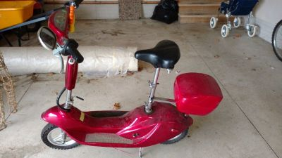 SCOOTER - Sun brand, excellent condition, dark red, driven once.