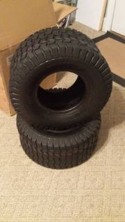 Riding mower rear tires 18 X 8.5 X 8 *** TIRE CHANGING AVAILABLE***