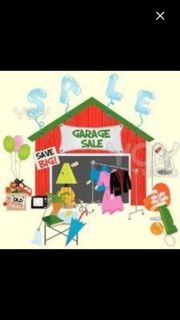GARAGE SALE TODAY FRIDAY SATURDAY