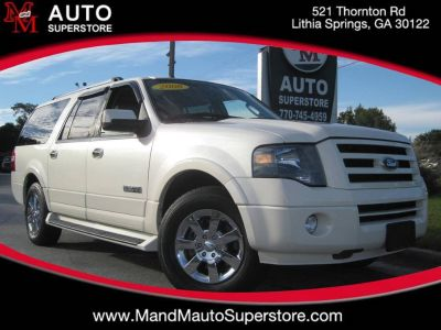 2008 Ford Expedition EL Limited (White)