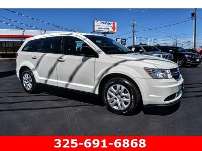 2015 Dodge Journey SE (white)