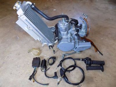 Buy COMPLETE ENGINE ASSEMBLY, Running Motor, CR85RB CR85R CR85 CR 85 Honda '03 motorcycle in West, Texas, United States, for US $925.00